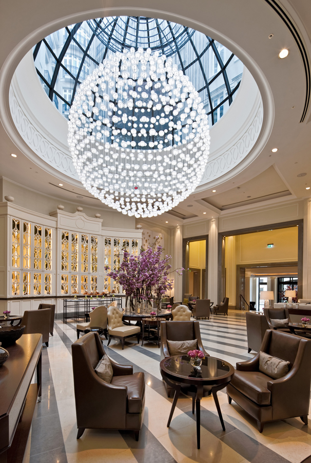 Corinthia Hotel London - Lobby with furniture by Decca London