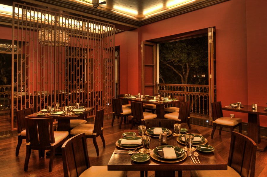 Grand Hyatt Goa // Hospitality interiors // Dining areas in hotels