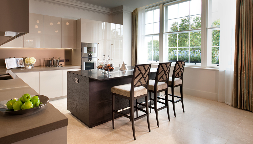 1508 London - Project Sinatra - Decca - Bar stools - kitchen