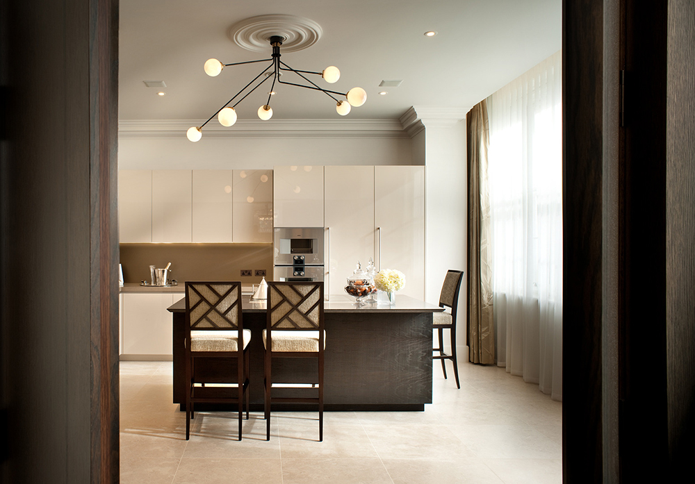1508 London - Project Sinatra - Decca - Rosenau Bar stools - kitchen