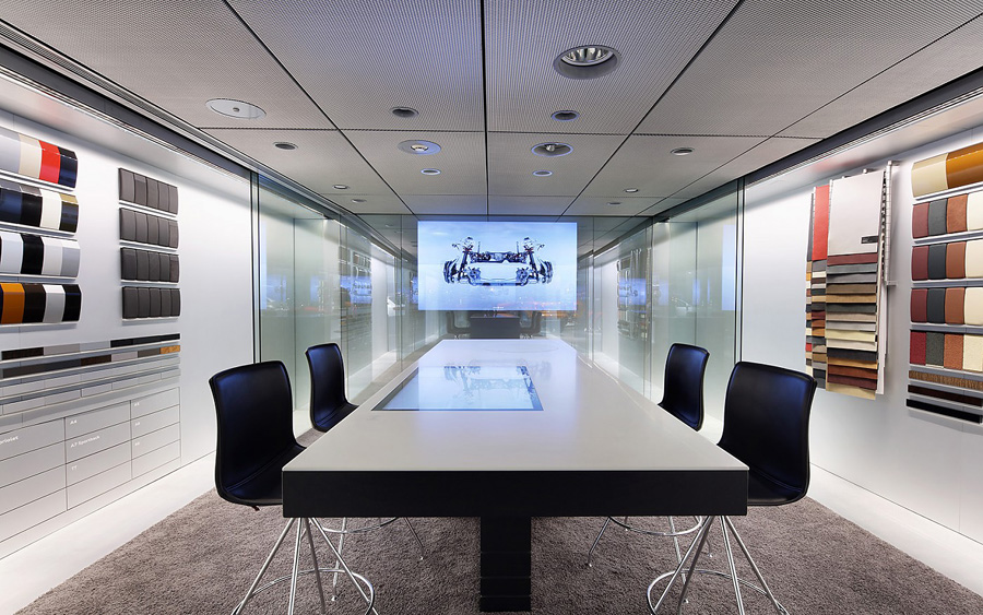 audi-showroom-beijing-decca-contract-meeting-room-bespoke-meeting-tables