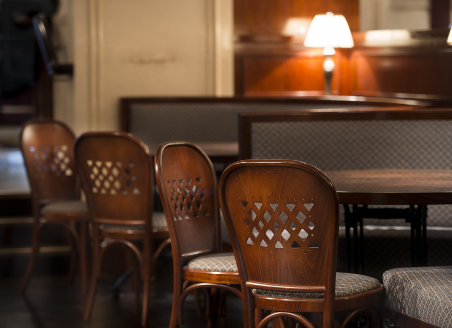 Bellanger restaurant in Islington, Banquettes by Decca London