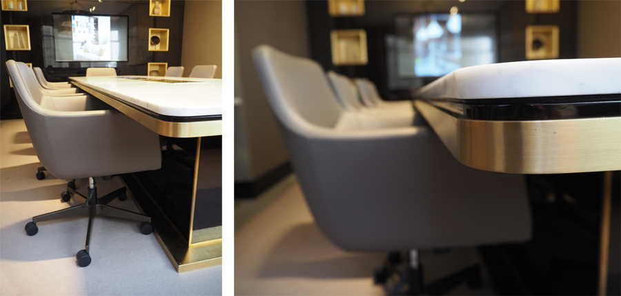 Meeting room & Bing desk chairs // Taylor Howes office // Cheval Place // Bespoke furniture by Decca London