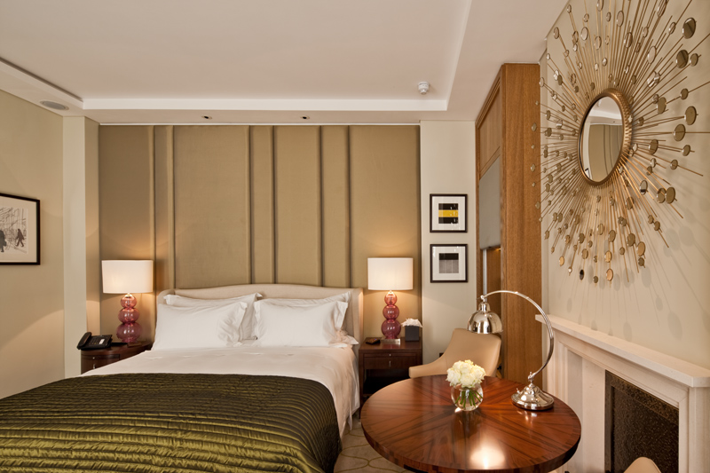 Decca London-Corinthia London-master bedroom-luxury hotels-luxury bedroom