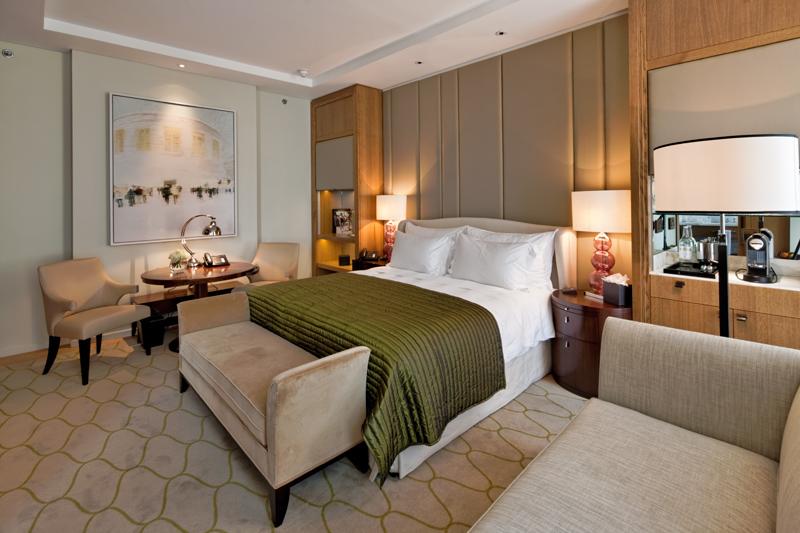 Decca London-Corinthia London-master bedroom-luxury hotels