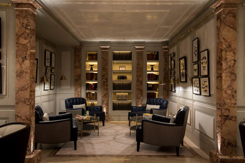 Lanesborough-Spa-Butterfly-Lounge-Decca-London-bespoke-furniture-lounge-chairs