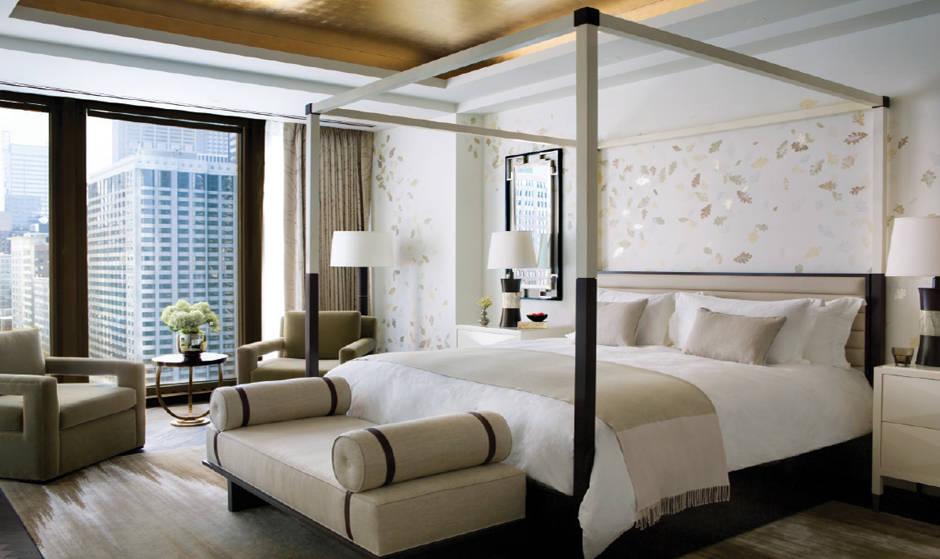 The Langham Chicago_Infinity Suite_master bedroom