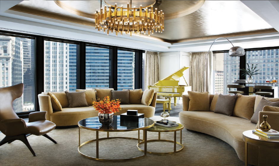 The Langham Chicago_The Infinity Suite_Richmond Design_furniture made by Decca