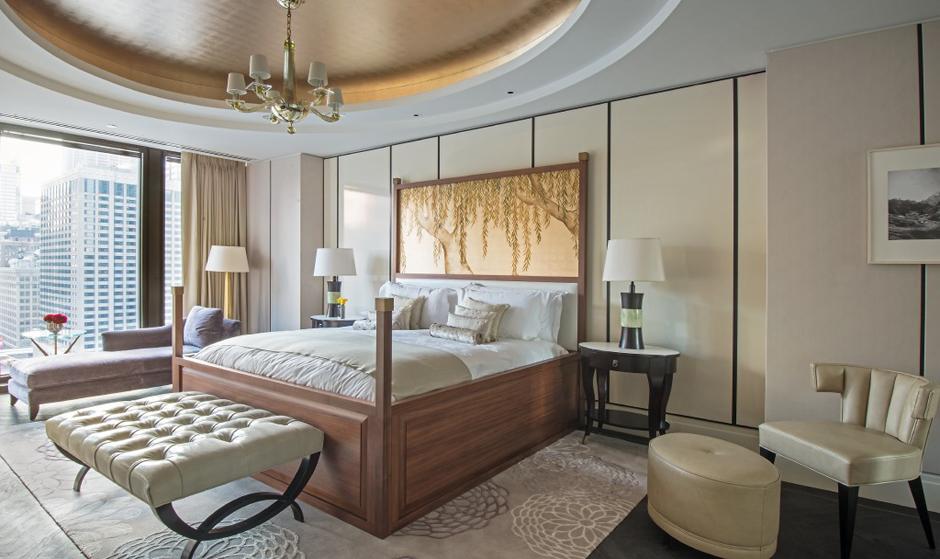 The Langham Chicago_Regent Suite_master bedroom