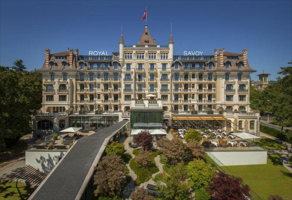 MKV Royal Savoy Hotel Lausanne swiss