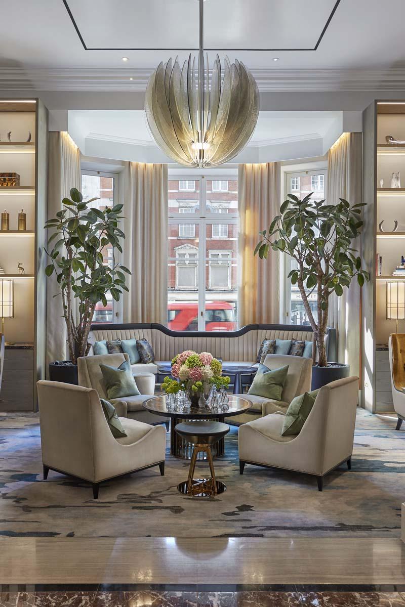 Mandarin Oriental Hyde Park luxury furniture by Decca
