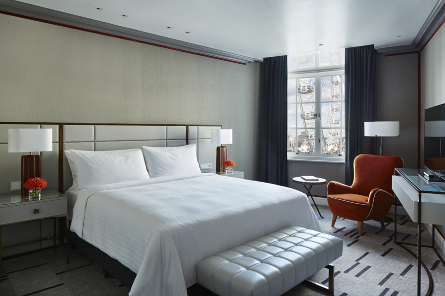 Marriott Hotel County Hall combines the very best in contemporary hotel design with the heritage and elegance of its premiere location in the heart of London