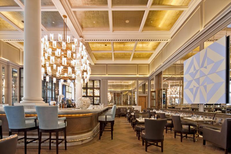 Decca London-Corinthia hotel-northall restaurant-ga design-luxury restaurant-bar and dining area