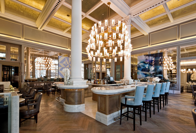 Decca London-Corinthia hotel-northall restaurant-ga design-luxury restaurant-bar