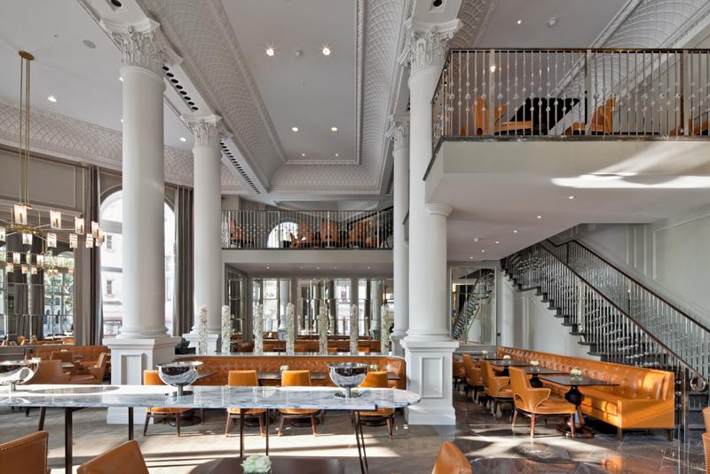 Decca London-Corinthia hotel-northall restaurant-ga design-luxury restaurants-london restaurants