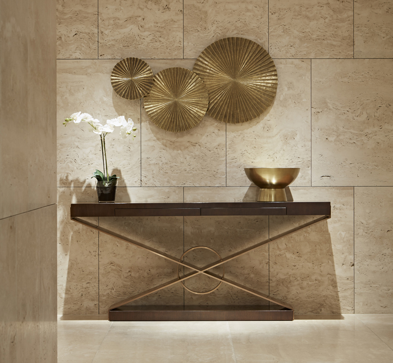 One Kensington Gardens Spa // Bespoke furniture for hospitality projects by Decca London