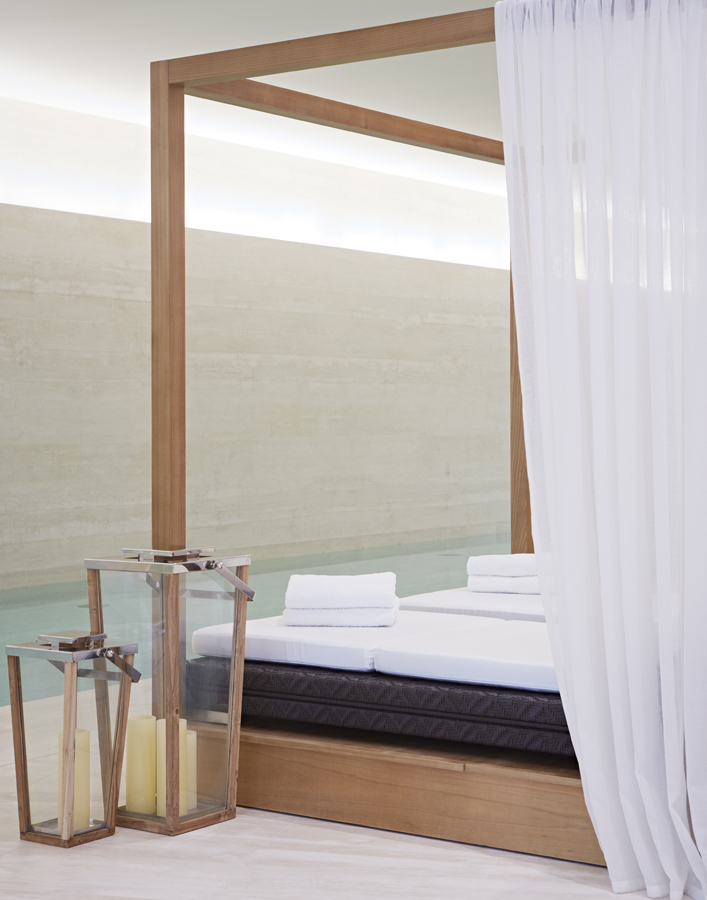 One Kensington Gardens Spa // Bespoek furniture for hospitality projects by Decca London