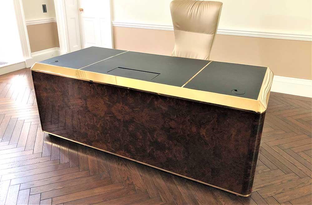 Luxury desk-Decca London (front)