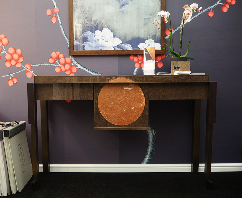 Michael Veal Fusion Collection at Decorex 2016-console