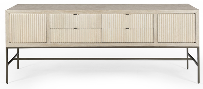65015 0612 Credenza front Modern Desert Domicile collection by Michael Vanderbyl for Bolier-High Point Market 2016