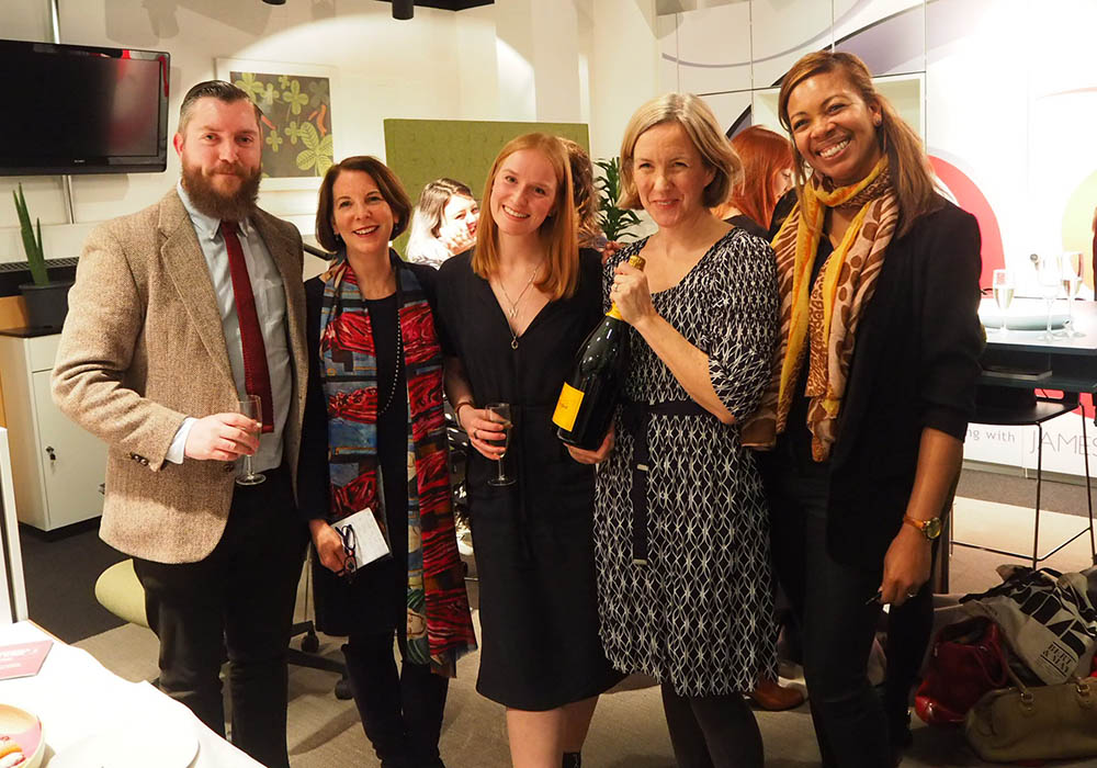 BIID Networking event_Decca London_Atkinsons Group_Winners_Absolute Project Management_Susie Rumbold_James Fiddy