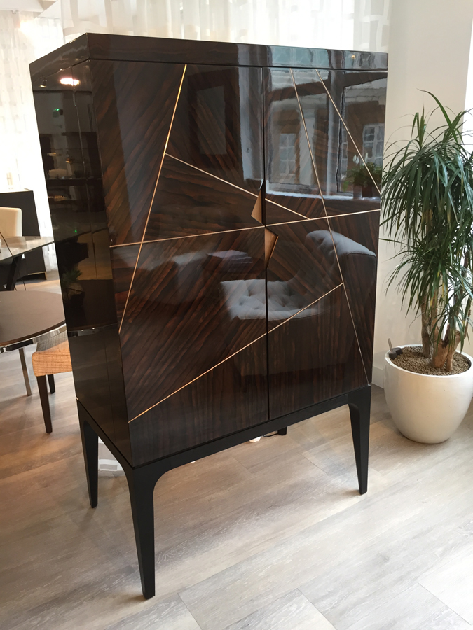 Bespoke by Decca // Bespoke Dry Bar Cabinet // Bespoke furniture by Decca London