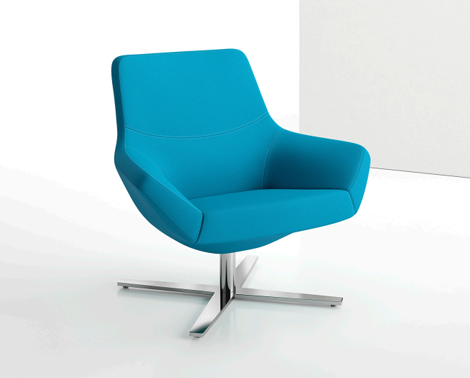 Decca Contract by Deca - Decca London - Bing collection - luxury lounge seating - colourful lounge seating - Bing Mi Back Luxe Lounge Seating