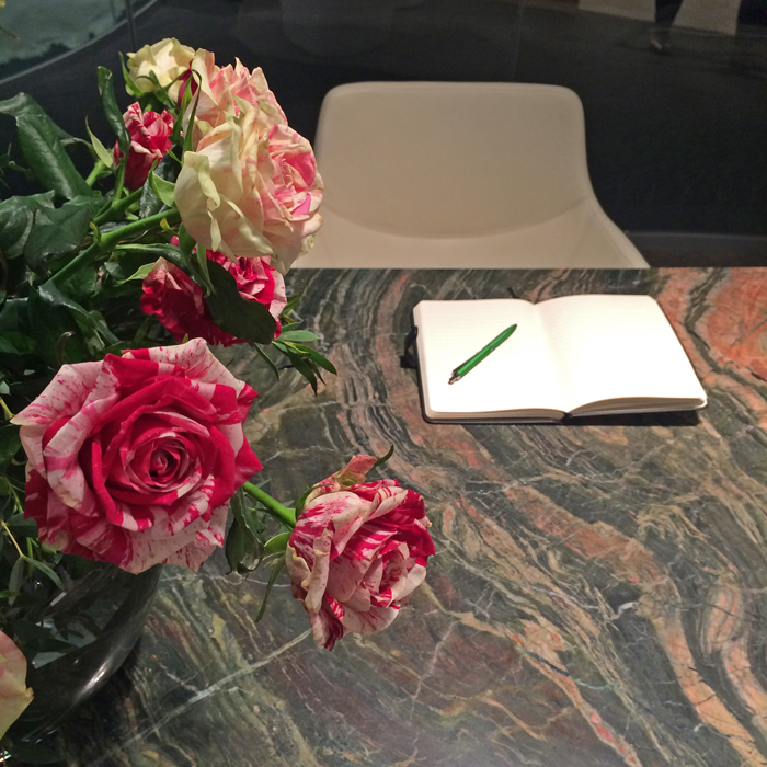 Decca London // Bespoke Marble Topped Desk // Marble Desk // Luxury Executive Office London
