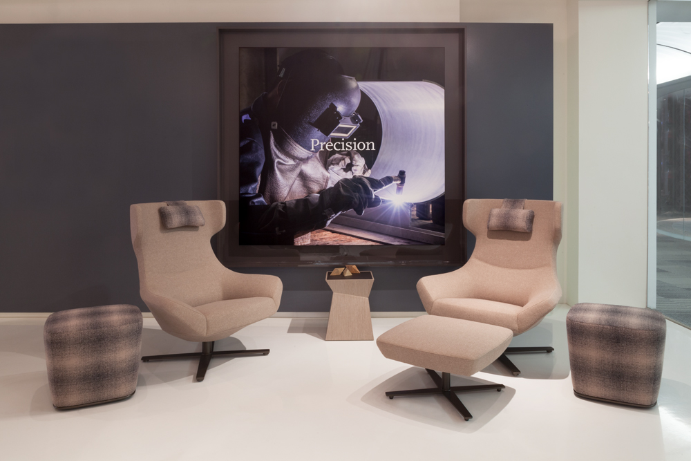 Decca London // Decca Contract by Decca // Bing Lounge Seating // Luxury office furniture