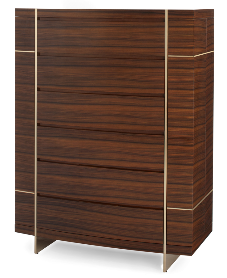 Signet Collection by Dakota Jackson // Tall Cabinet // Luxury Interiors // Decca London